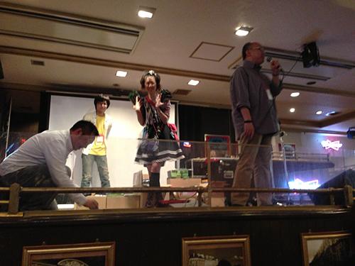 AUGM名古屋2012二次会ジャンケン大会