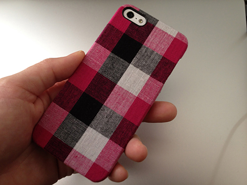 Simplism Fabric Cover Set for iPhone