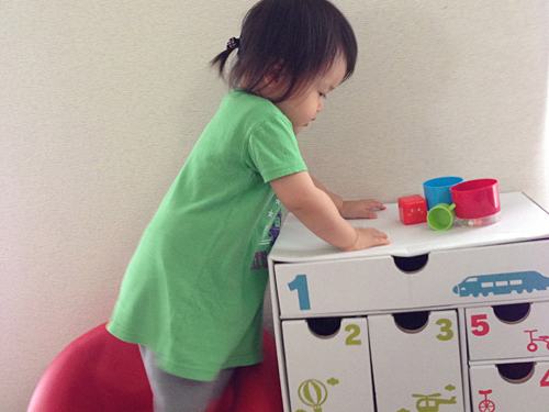 ムスメ1歳6ヶ月