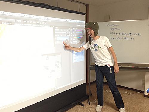 愛知県岡崎市で開催される子連れOKなWebやDTPの勉強会:kohanet withこども会「ちょっとレタッチが上手くなりたいデザイナー向け講座」